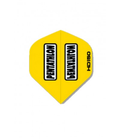 Pentathlon HD 150 Standard Flights Yellow