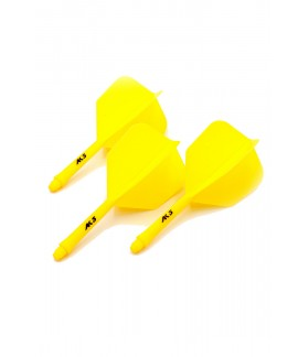Cuesoul AK5 Shape Yellow Flights S