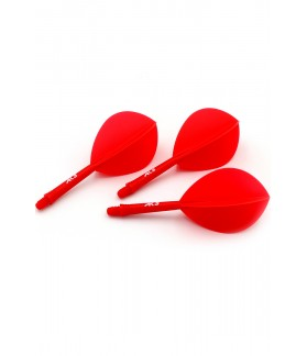 Cuesoul AK5 Oval Red Flights