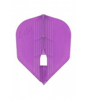 Champagne Kami Shape Purple Flights