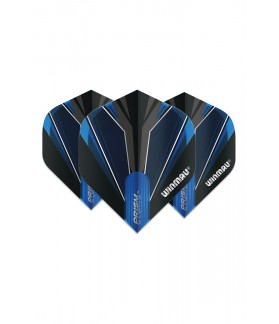 Winmau Prism Alpha Standard Flights Blue/Black