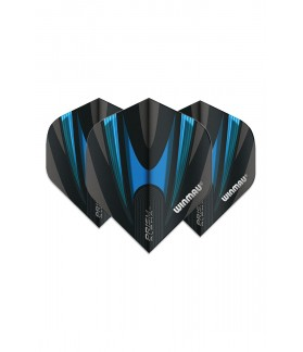 Winmau Prism Alpha Standard Flights Black/Blue
