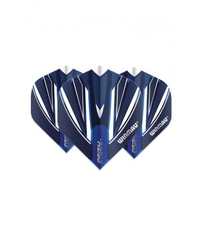 Winmau Prism Alpha Standard Flights Blue/White