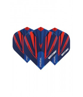 Winmau Prism Alpha Standard Flights Blue/Red