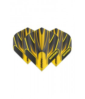 Winmau Prism Alpha Standard Flights Black/Yellow