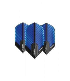 Winmau Prism Alpha Slim Flights Blue/Black