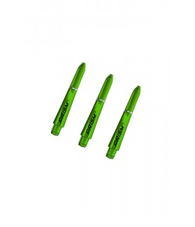 Winmau Prism 1.0 Extra Short Shafts Green