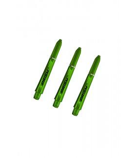 Winmau Prism 1.0 Short Shafts Green