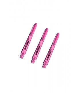 Winmau Prism 1.0 Short Shafts Pink