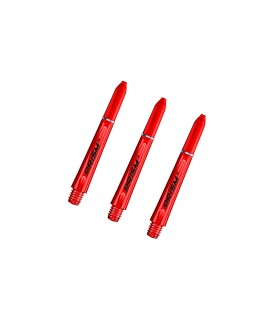 Winmau Prism 1.0 Short Shafts Red