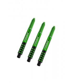 Winmau Prism Force Intermediate Shafts Green