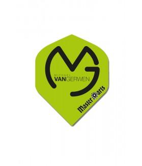 Plumas MasterDarts Standard MVG Verde