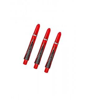 Harrows Supergrip Fusion Medium Shafts Black/Red