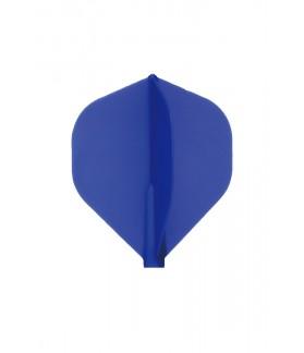 Plumas Fit Flight Standard D-Azul 3 uds