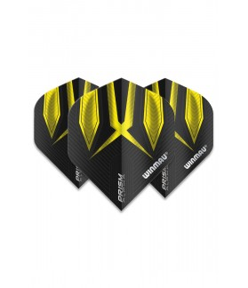 Winmau Prism Alpha Standard Flights Yellow/Black