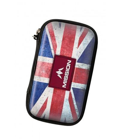 Mission Freedom XL Darts Case Union Jack