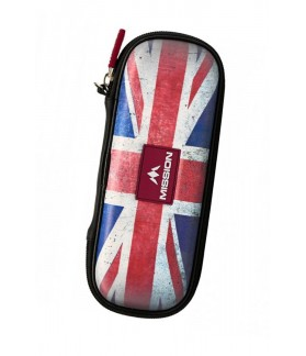Mission Freedom Slim Darts Case Union Jack