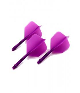 Cuesoul AK5 Shape Purple Flights L