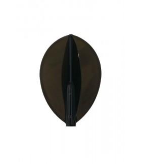 Plumas Fit Flight Air Oval D-Negro