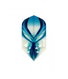 Plumas Pentathlon Clear Slim Azul