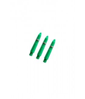 Nylon Extra Short Green Shafts 27mm