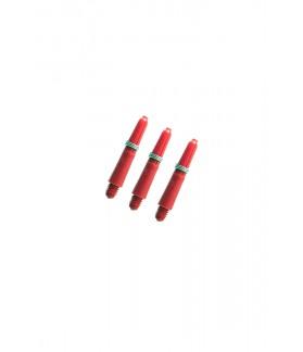 Nylon Extra Short Red Shafts 27mm
