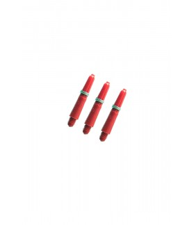 Nylon Extra Short Red Shafts