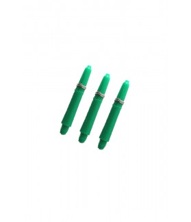 Nylon Short Green Shafts 34mm