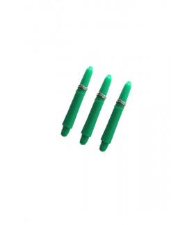 Nylon Short Green Shafts 34mm