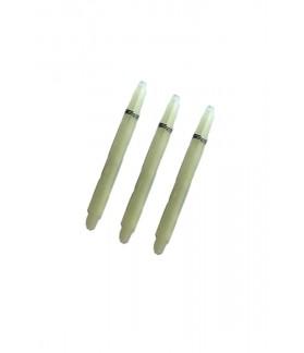 Nylon Medium White Shafts 47mm