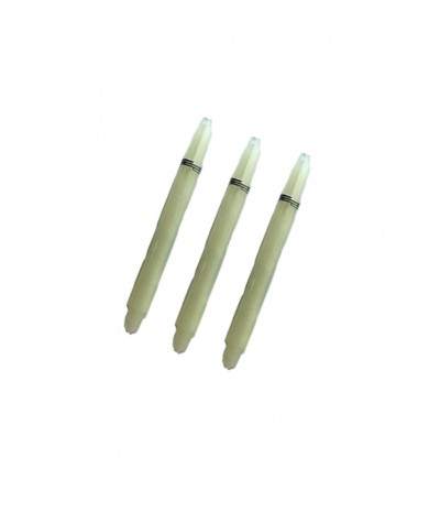 Nylon Medium White Shafts