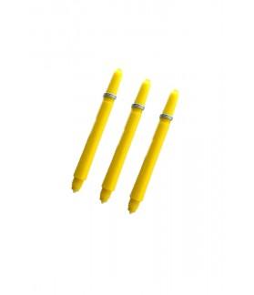 Nylon Medium Yellow Shafts 47mm