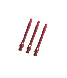Cañas Aluminio Medianas Rojo