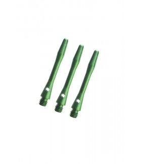 Cañas Aluminio Medianas Verde
