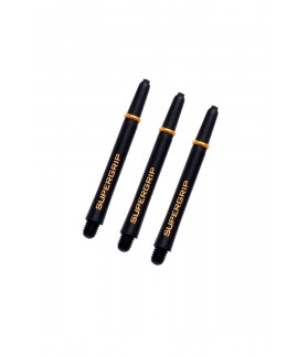 Harrows Supergrip Medium Black/Gold Shafts