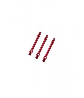 Aluminium Extra Short Red Shafts 30mm