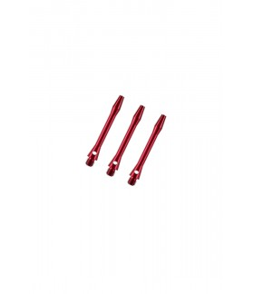 Cañas Aluminio Extra Cortas Rojo