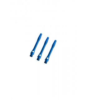 Aluminium Extra Short Blue Shafts 30mm