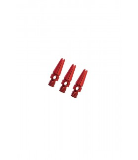 Aluminium Micro Red Shafts 14mm