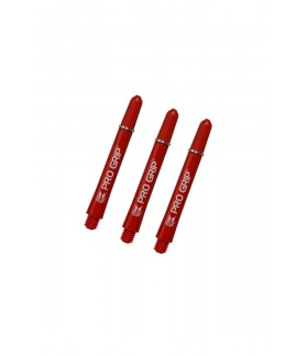 Target Pro Grip Intermediate Red Shafts