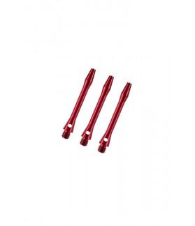 Cañas Aluminio Cortas Rojo